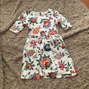 Girls (M) 8- old navy floral dress